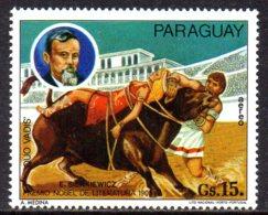 1977 Paraguay, Nobel Prize Cirque Rome - Paraguay