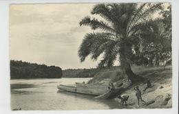 AFRIQUE - CONGO BELGE - Pirogues (carte Postée à LEOPOLDVILLE ) - Congo Belge - Autres