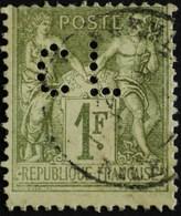 -Sage N°82 Type Ll.(CAD) O PERFORE C L. - 1876-1898 Sage (Tipo II)