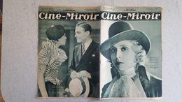 CINE MIROIR 09/1933 N°440 MARGUERITE WEINTENBERGER  - HENRY GARAT ET LISETTE LANVIN - UNE FEMME AU VOLANT - Cinéma/Télévision