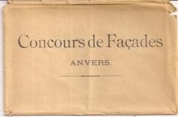 """ANTWERPEN ANVERS """"CONCOURS DE FACADES-WEDSTRIJD VOORGEVELS-10ST.""""FOTO EDM.BASTIJNS &CO - Antwerpen"""