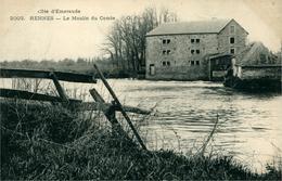 Rennes Bourg L'Evèque La Touche CPA 35 Ille Et Vilaine Moulin Du Comte Ed Carte Précurseur 1903 - Rennes