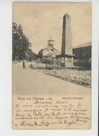 HUNINGUE - Gruss Aus HÜNINGEN I. Els - Abbatucci-Denkmal - Huningue