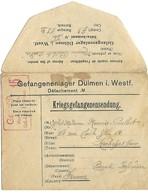 Censure / Zensur - Lettre De Prisonnier De Guerre / Krigsgefangenensendung - Dülmen - Occupation 1914-18