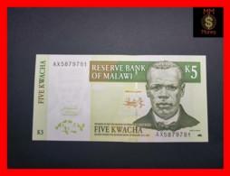MALAWI 5 Kwacha 1.3.2004  P. 36 B  UNC - Malawi