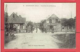 GILOCOURT 1916 CARREFOUR DE LA FONTAINE CARTE EN TRES BON ETAT - Otros Municipios