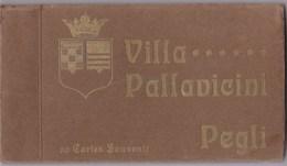 Villa  PALLAVICINI  --  PEGLI  --  Carnet  De  20  Cartes Postales - Genova (Genoa)
