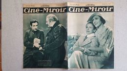 CINE MIROIR 07/1933 N°433 ARLETTE MARCHAL ET ROBERT LYNEN - RAFFLES - HARRY BAUR - Cinéma/Télévision