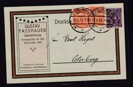 DR. Reklame-Karte, Papierwarenfabrik, M. Herbers, Quedlinburg - Ohne Zuordnung