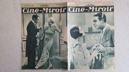 CINE MIROIR 07/1933 N°432 SPINELLY ET GEORGES RIGAUD - GORGE RAFT ET CONSTANCE CUMMINGS - 14 JUILLET - Cinéma/Télévision