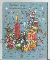 Pop Up Card. Bougies, Cadeaux Et Branches De Sapin. - Weihnachten