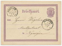 Naamstempel Zandvoort 1872 - Cartas