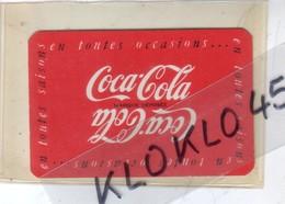 Petit Calendrier Coca Cola En Toutes Occasions Toutes Saisons - Année 1952 Buvez Coca Cla Glacé - Calendriers