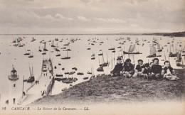 CPA 35 - CANCALE - Le Retour De La Caravane - Cancale