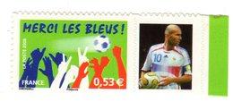 Merci Les Bleus N°3936B Adhesif - Personalized Stamps