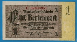 DEUTSCHES REICH 1 Rentenmark 30.01.1937# C.08380351  P# 173b - Sonstige