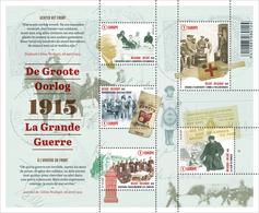 Blok 224** De Groote Oorlog (Het Leven Achter Het Front) 4492/96**/La Grande Guerre (la Vie à L'arrière Du Front) Deel 2 - Blocs 1962-....
