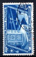ITALIE (Royaume) - 1932 - N° 311 - 35 C. Bleu - (10ème Anniversaire De La Marche Sur Rome) - 1900-44 Vittorio Emanuele III