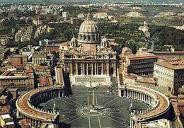 3 AK Vatikan * Der Petersdom Und Der Petersplatz - Luftbildaufnahme * - Vatikanstadt
