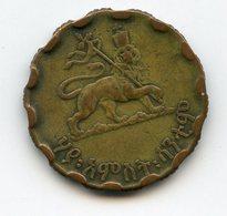 ETHIOPIA 1943-1944. 25 CENT - Ethiopia