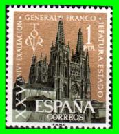 ESPAÑA –  SELLOS  AÑO 1961  EXSALTACION DEL GENERAL FRANCO - 1961-70 Nuevos & Fijasellos