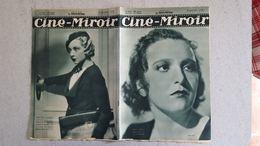 CINE MIROIR 05/1933 N°422 MARIE BELL - TANIA DOLL - SILENCE ON TOURNE - Cinéma/Télévision