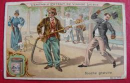 Image Chromo Extrait De Viande Liebig. S 605. Douche Gratuite. 1899. - Liebig