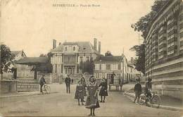 - Marne -ref-A942- Betheniville - Place De Munet - Peinture Vitrerie Coscia Muno - Magasins - Metiers - - Bétheniville