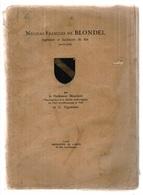 Nicolas-François De Blondel, Ingénieur Et Architecte Du Roi (1618-1686), Mauclaire Et C. Vigoureux, Architecture, Marine - Biographie
