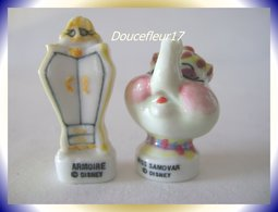 Belle Et La Bête... 2 Fèves ... Ref : AFF : 31-1995...(0040-14) - Disney