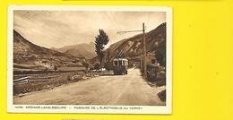 MODANE-LANSLEBOURG L'Electrobus Au Verney (Braun) Savoie (73) - Modane