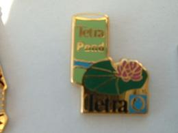 Pin's TETRA POND - Trademarks
