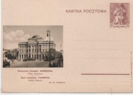 Polen 1938 Ganzsache Cp 86-54 Warszawa Postfrisch; Poland Postal Stationery Mint Kartka Pocztowa - Stamped Stationery