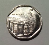 Cuba 2016 KM#575 CASA COLONIAL 5 Centavos Regular VF - Cuba