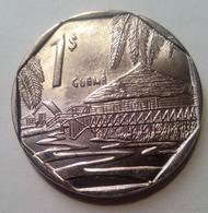 Cuba 2017 KM#579 GUAMA 1 Peso Regular XF - Cuba