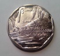 Cuba 2018 KM#579 GUAMA 1 Peso Regular XF - Cuba