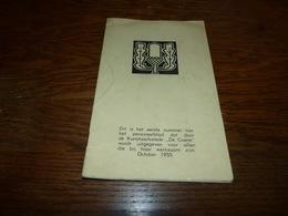 Personeelblad De Coene October 1955 Kortrijk Marke 16 Pages - Vecchi Documenti