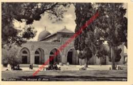 The Mosque El Aksa - Jerusalem - Israel Palestine - Palestine