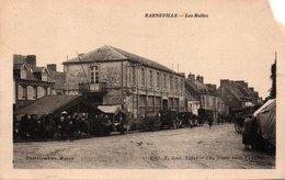 Carte Postale Ancienne - Non Circulé - Dép. 14 - BARNEVILLE  - Les Halles - Coin Haut Droite Coupé - - Sonstige Gemeinden