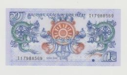 Bankbiljet Bhutan 1 Ngultrum 2006 UNC - Bhutan