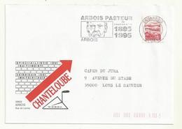 FLAMME CENTENAIRE LOUIS PASTEUR  1895/1995  ARBOIS  JURA - Louis Pasteur