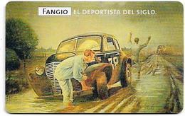 Argentina - Telefónica - Juan Manuel Fangio Cars 2/8, 07.1999 - 50.000ex, Used - Argentinien
