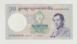 Bankbiljet Bhutan 10 Ngultrum 2013 UNC - Bhutan