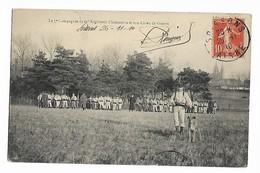 Militaria La 7e Compagnie Du 6e Régiment D'Infanterie Et Son Chien De Guerre. Posté De SOISSONS      ...G - Régiments