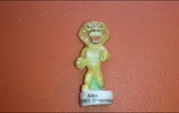 Fève Alex Le Lion - Madagascar 1 - Dream Works 2005 - Cartoons