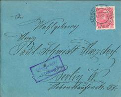 Franz Josef 10 Heller - 1915 Trautenau Trutnov - Briefzensur Prag - Lettres & Documents