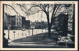 °°° 19706 - USA - MA - NORTHAMPTON - MAIN STREET - 1975 With Stamps °°° - Northampton