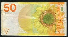 Netherlands  - 50 Gulden 1982 'Zonnebloem' / 4192602741 - See The 2 Scans For Condition.(Originalscan ) - [1] …-1815 : Ante Regno