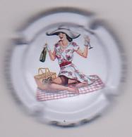 Capsule Champagne BARONI Brigitte ( 46 ; Pin'Up Pique-nique ) {S13-20} - Champagne