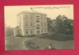 C.P. Uccle NECKERSGAT =  Château ( Institut Hygiénique )  Façade  Postérieure - Uccle - Ukkel